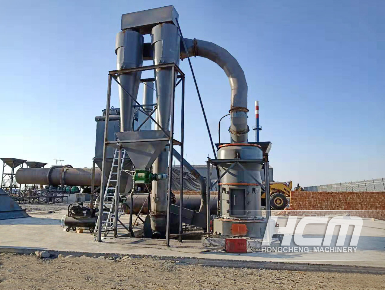 HCM Grinding Mill Solution