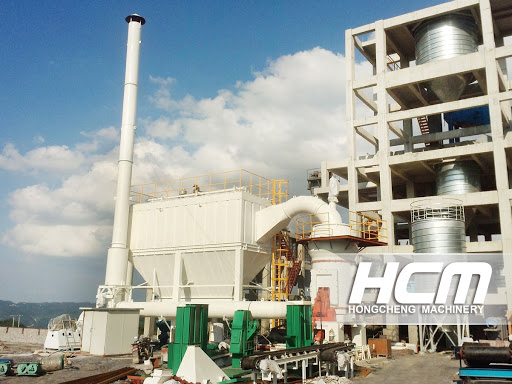 HLM Superfine Vertical Grinding  Mill for the Processing of Bentonite
