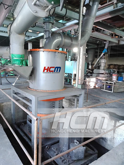 HCH Ultra-fine Grinding Mill for the Powder Making of Bauxite