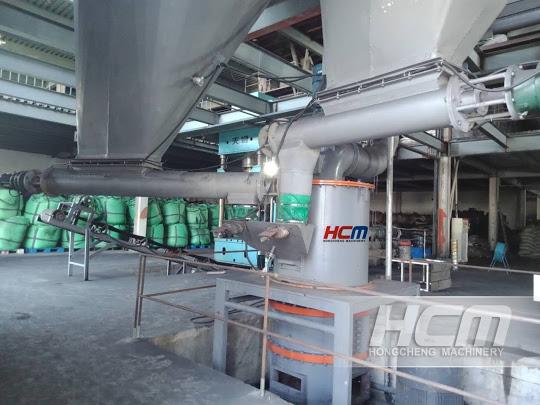 HCH Ultra-fine Grinding Mill for Preparation of Petroleum Coke Powders