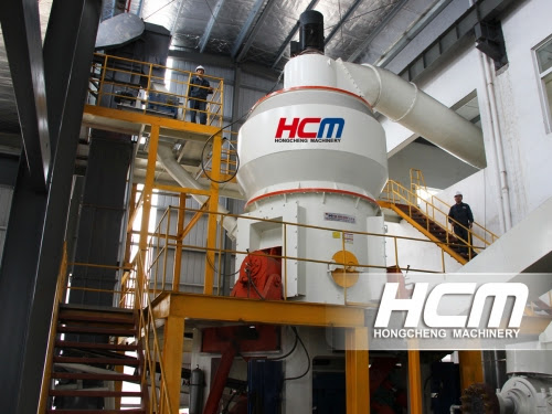 HLM Superfine Vertical Grinding Mill for  the Powder Making of Flake Graphite