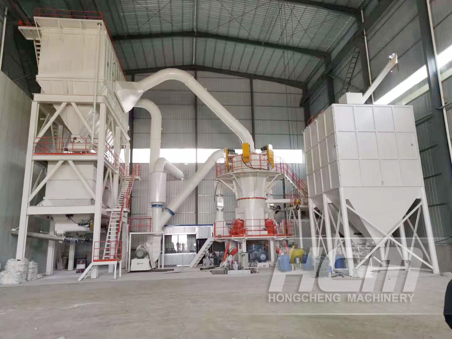 HLMX Superfine Grinding Mill Calcium Carbonate Project
