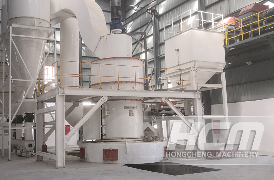 Customer Site of HC Vertical Grinding Mill
