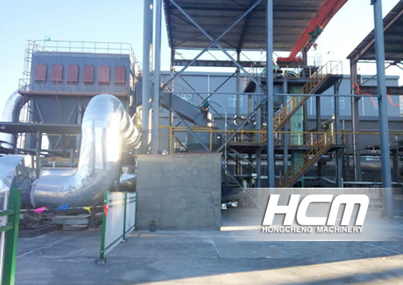 The Customer Site of HC 1700 Grinding Mill for Petroleum Coke Powder Making