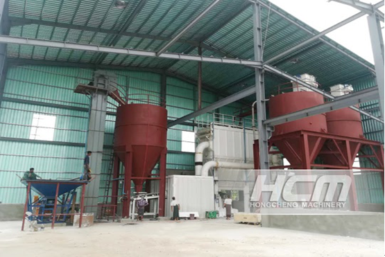 HCH Ultra-fine Grinding Mill for the Powder Making of Dolomite