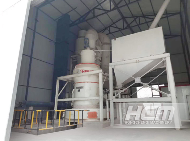 Raymond Roller Mill for Andalusite Powder Making