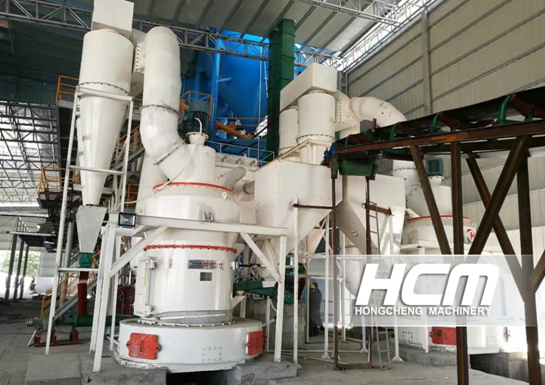 Raymond Roller Mill for the Powder Preparation of Activated Carbon