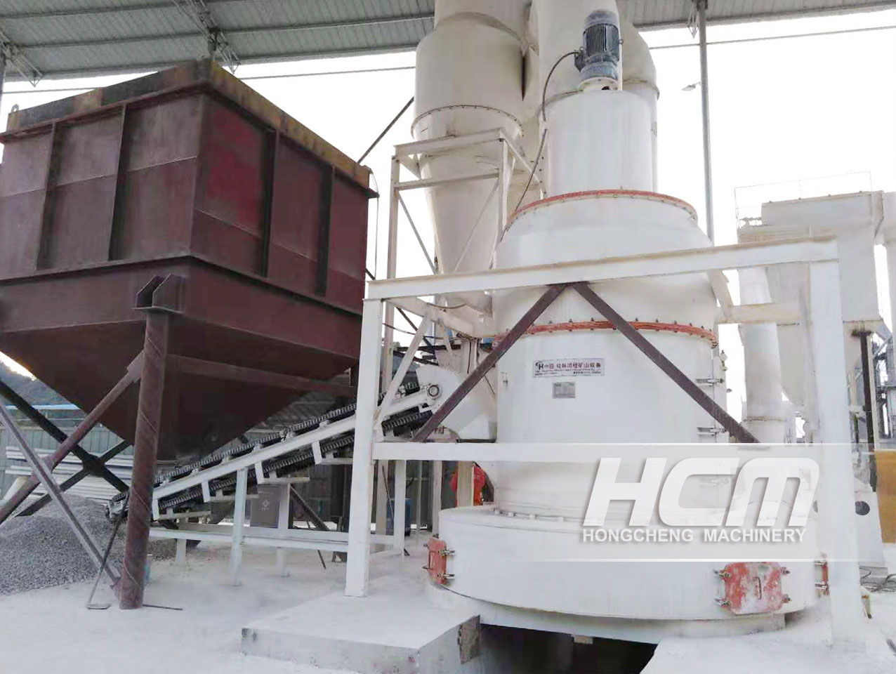 The Selection & Configuration Of The Grinding Mill Production Line For 300 Mesh Graphite Powder