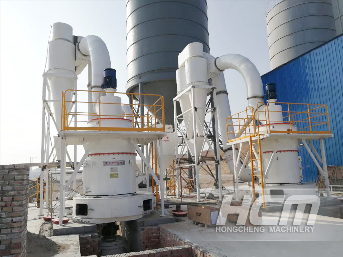 Raymond roller mill for mineral ore powder production