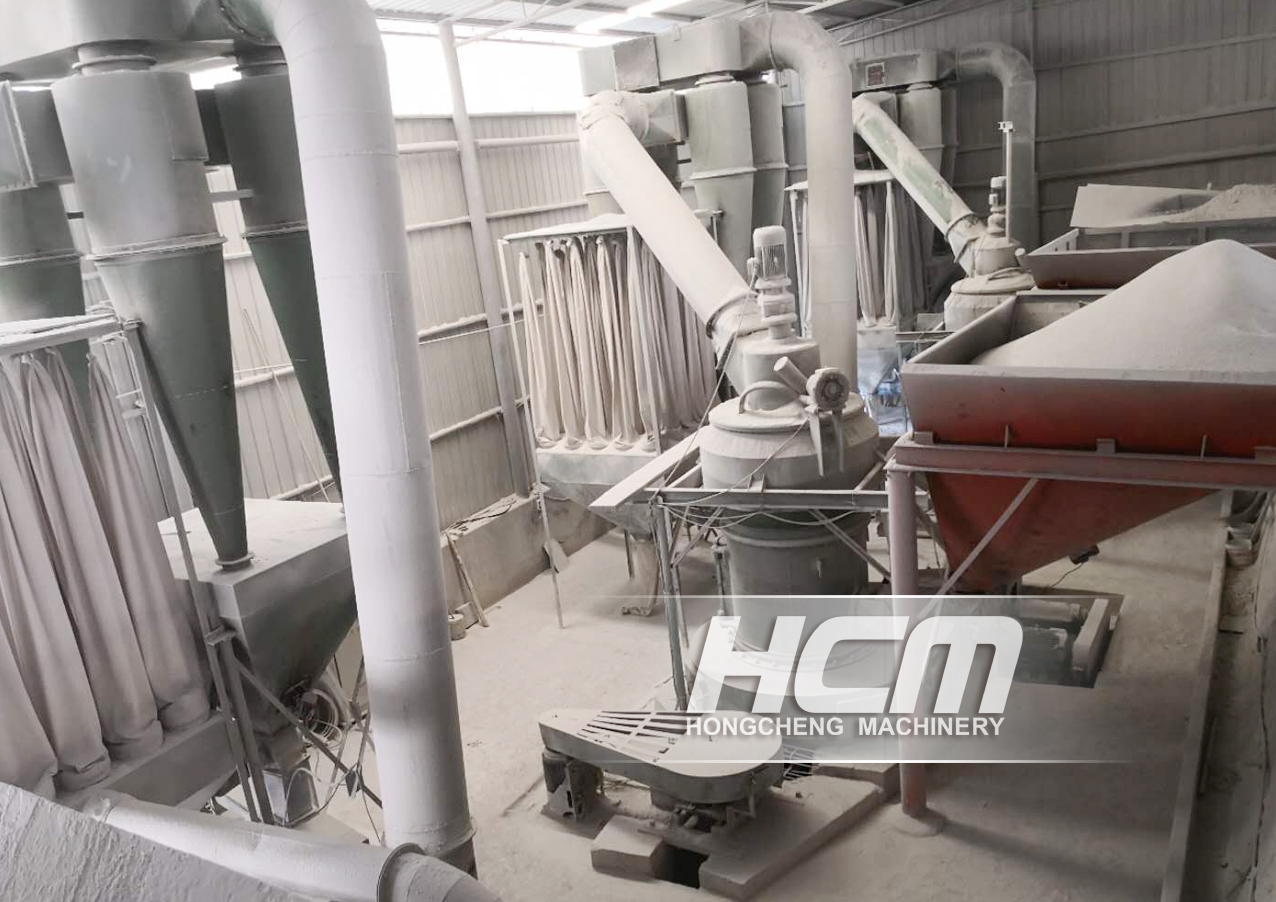 HC1300 Calcite grinding project: 325 mesh D97