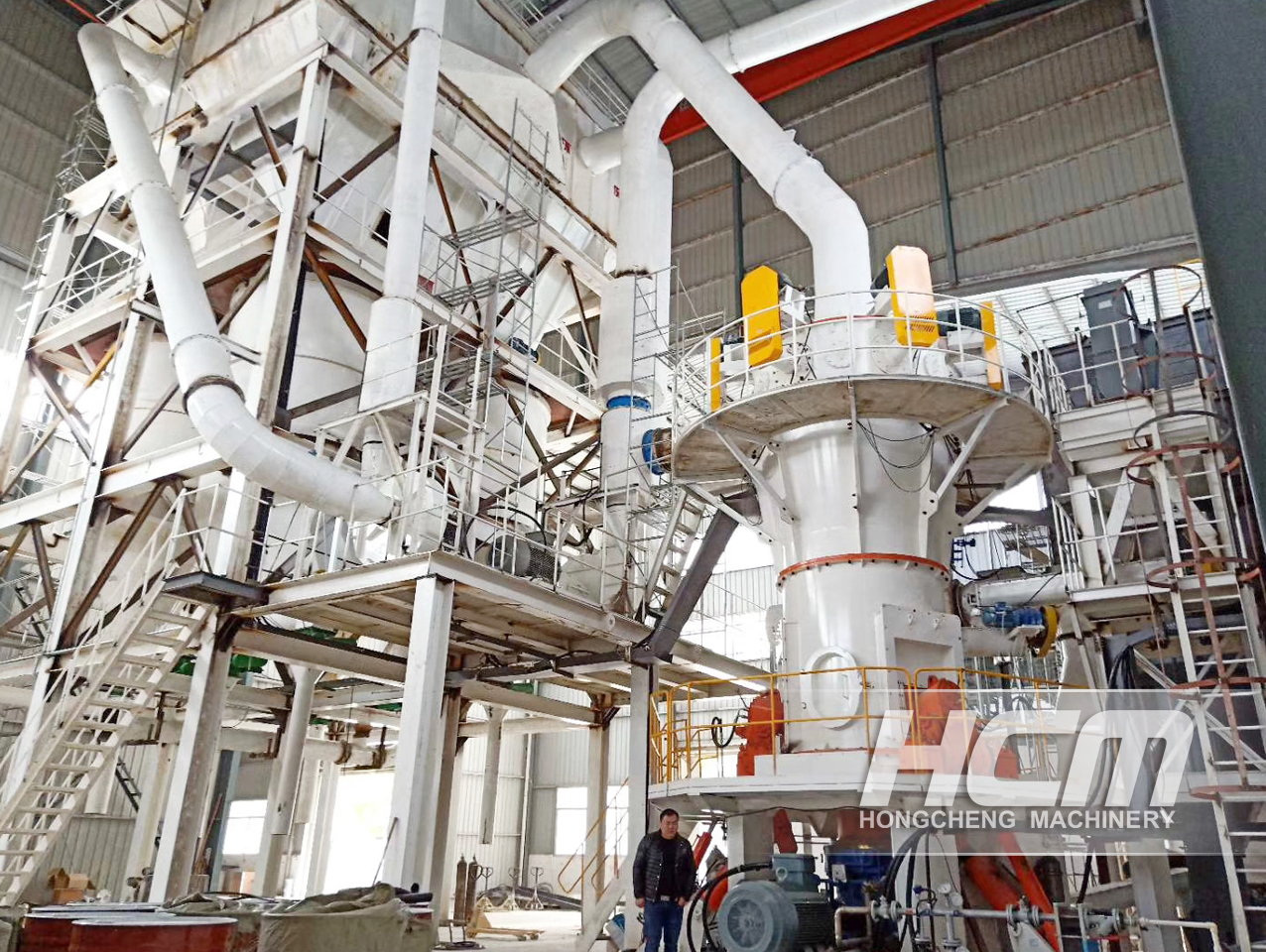 SUPERFINE GRINDER FACTORY FINE POWDER GRINDING PROCESS PROJECT