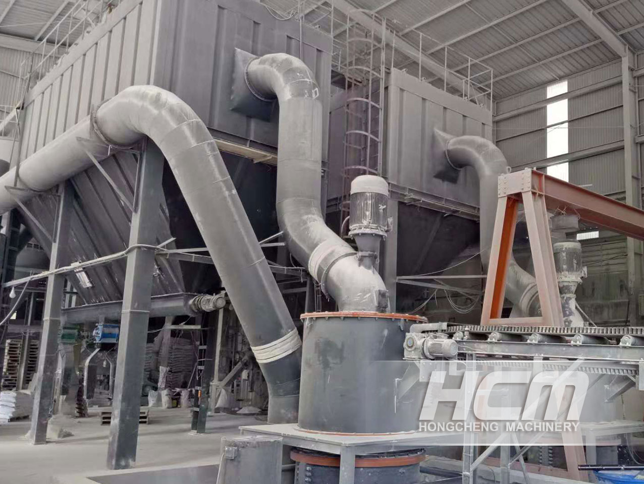 ULTRAFINE GRINDER RAW VERTICAL TURBINE TYPE GRINDING MILL FACTORY